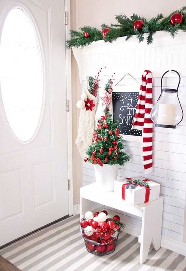 Christmas decoration ideas for entrance hall Foto Archidea