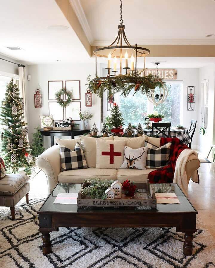 Christmas decoration ideas for living room Photo Jodie & Julie