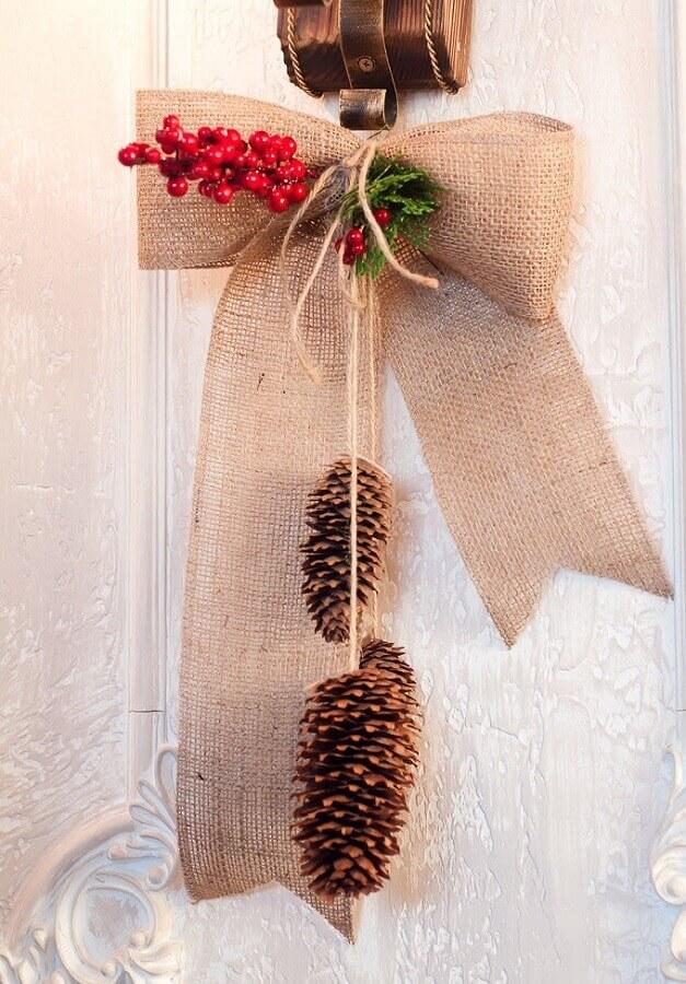 simple Christmas decoration ideas for door Photo Decor Ideas