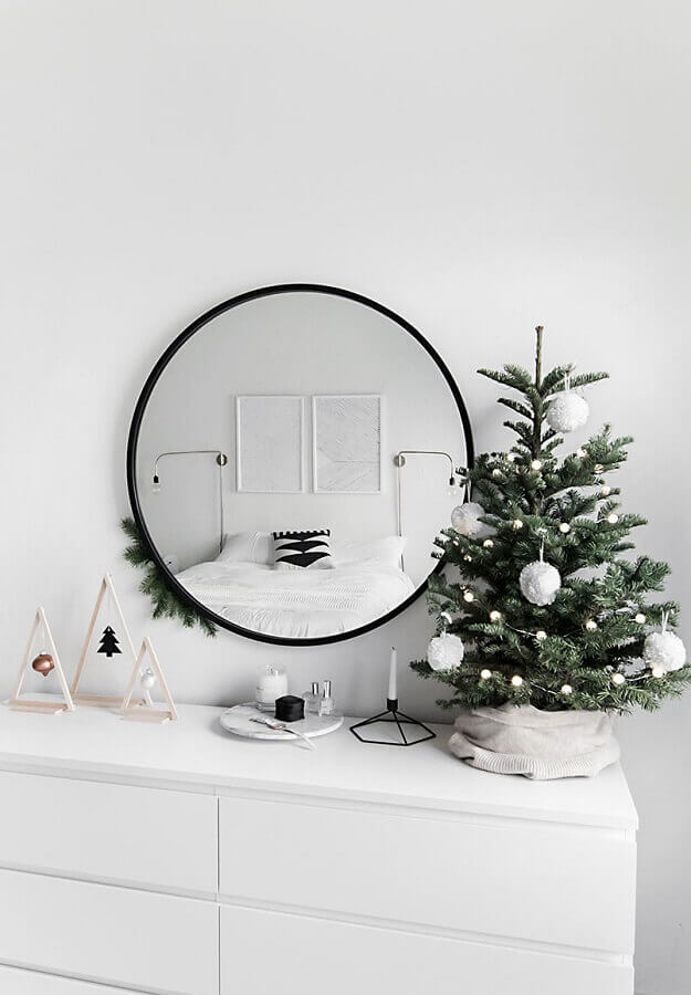 ideas for modern and minimalist Christmas decoration Photo Homey Oh My
