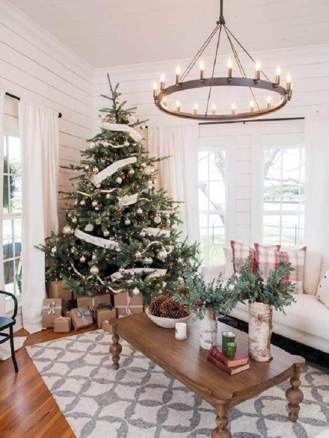 ideas to decorate Christmas tree in living room Photo Home Fashion Trend