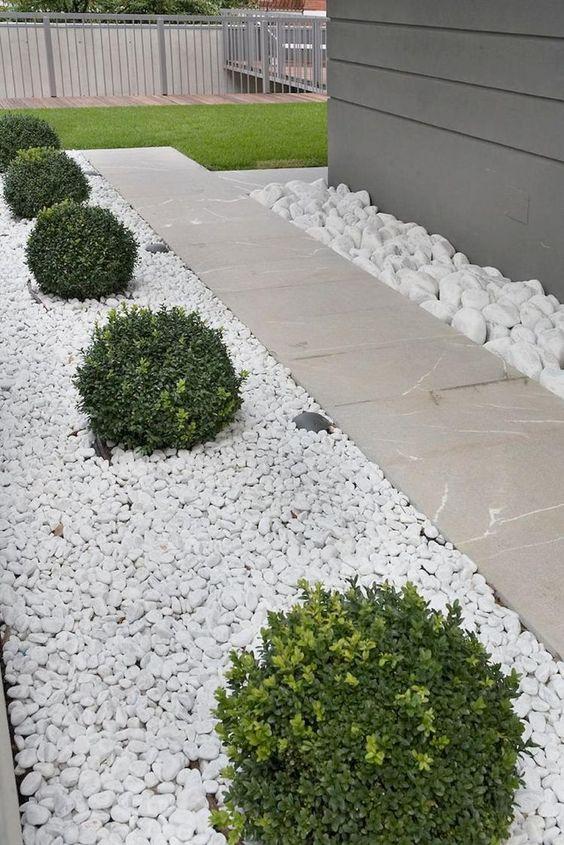 Pedra seixo branco