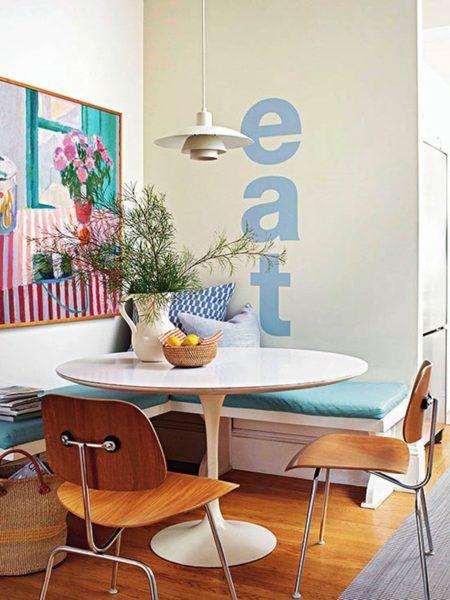 Mesa de canto alemão com mesa redonda super moderna