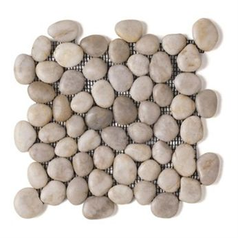 Pedra seixo telado para decoração de casa