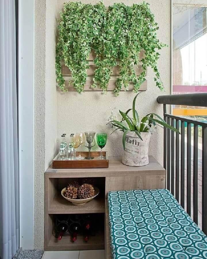 plantas para varanda de apartamento pequeno Foto MdeMulher