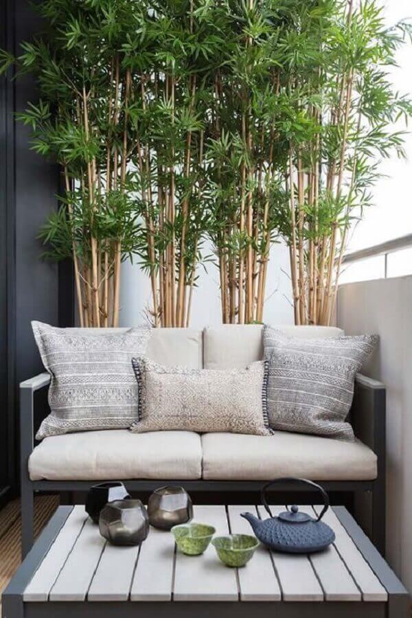 plantas para varanda de apartamento pequeno e moderno  Foto Simples Decoração
