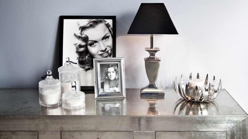Porta retratos criativos com fotos em preto e branco