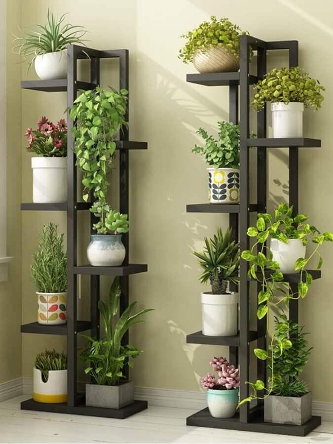 prateleira de ferro para plantas Foto Pinterest