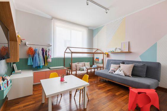 Sofá para quarto infantil completo