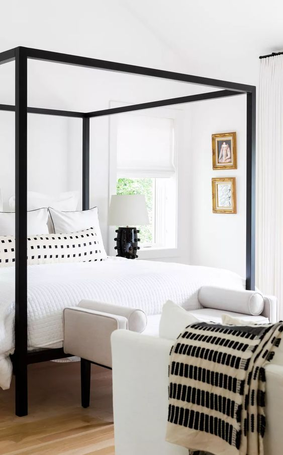 Sofá para quarto moderno