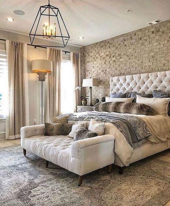 Sofá para quarto clássico