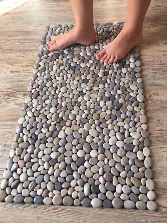 Use a pedra seixo na sua decoração