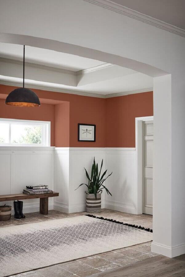 tinta tons terrosos para parede Foto Simplichique
