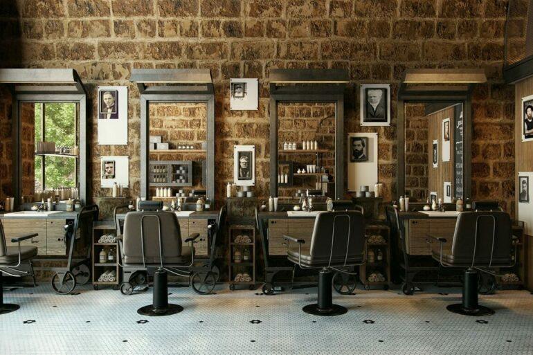 A parede de tijolinho aparente traz aconchego para a decoração