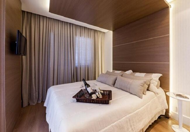 A saia pode trazer um diferencial para a decoração de sua cama