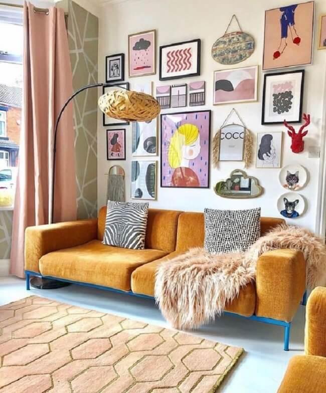 Em proporções estratégicas, as cores rosa e amarelo podem elevar a decoração da sua casa a outro patamar