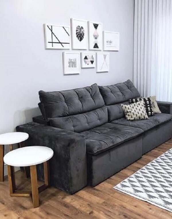 Fique atento as medidas do sofá retrátil com baú e considere sempre o tamanho dos acessos expandidos