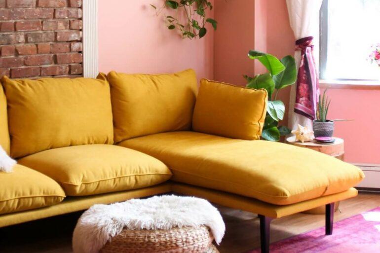 Descubra como usar as cores rosa e amarelo na decoração da sua casa