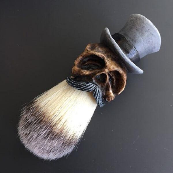 Invista em objetos de decoração para barbearia com design diferenciado