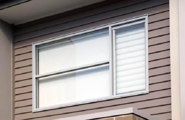Outra ideia interessante de janela guilhotina alumínio para residências