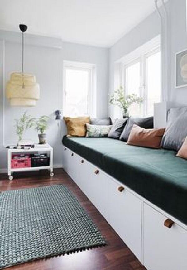 Que tal incluir um sofá baú na sua decoração?