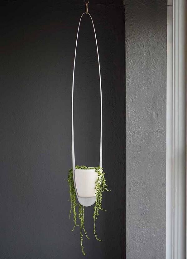 Suporte para vaso de planta suspenso cheio de design