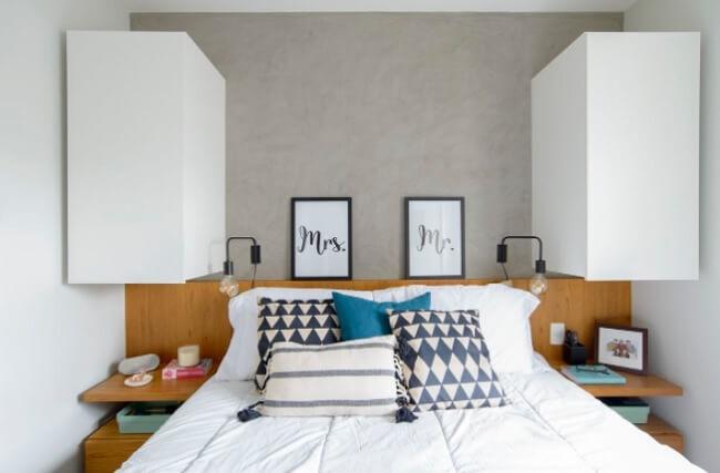 Uma das dicas para ter uma cama de dar inveja é incluir um cheirinho especial no ambiente após a arrumação do quarto
