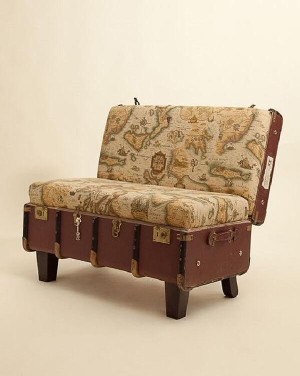 Use e abuse da criatividade na hora de escolher seu sofá baú