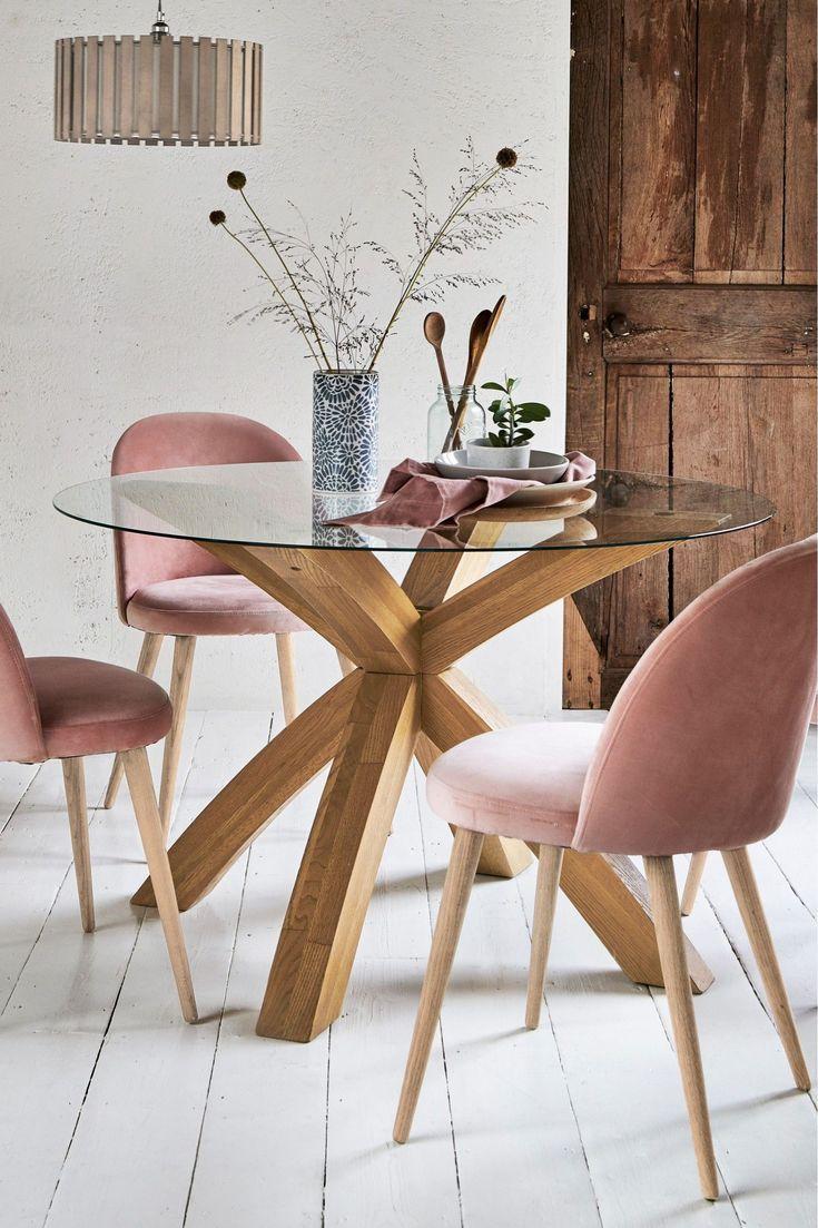 Base para mesa de vidro e madeira