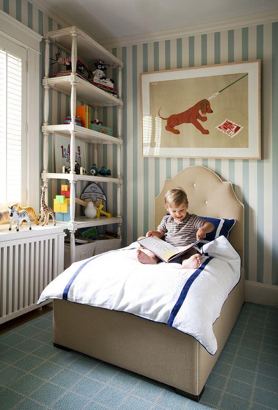Cabeceira infantil para quarto de menino