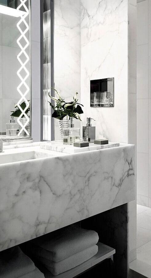 Aposte nas melhores cores de mármore para seu banheiro