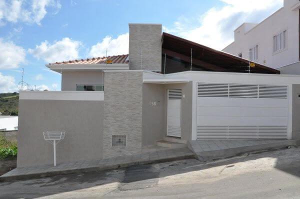 Revestimento para fachada na área externa