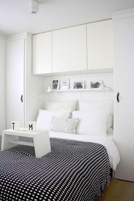 Guarda roupa com cabeceira para quarto de casal