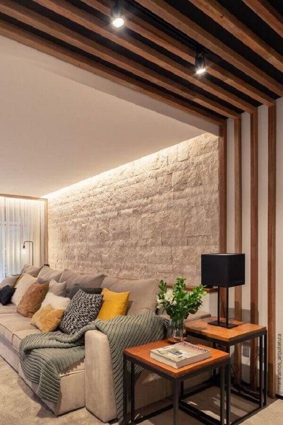Mesa lateral alta quadrada