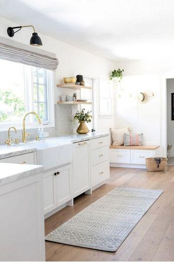 Use a passadeira nas cores que mais combinam com a cozinha