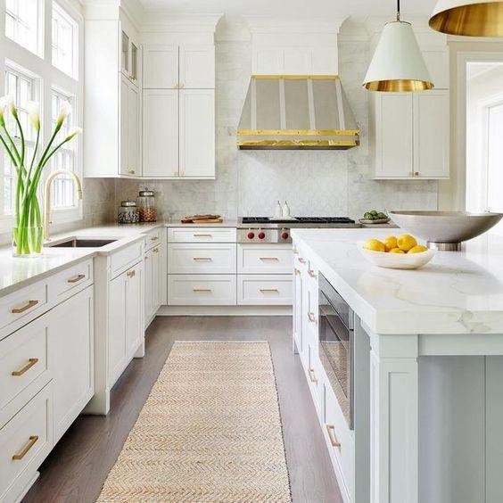 Passadeira de sisal para cozinha clean