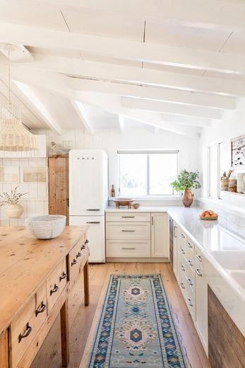 Passadeira para cozinha moderna