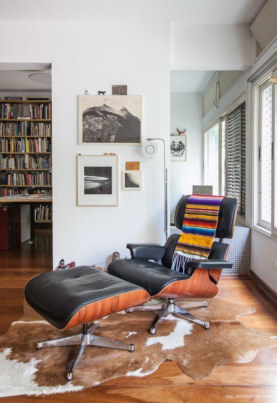 Poltrona Charles Eames cinza