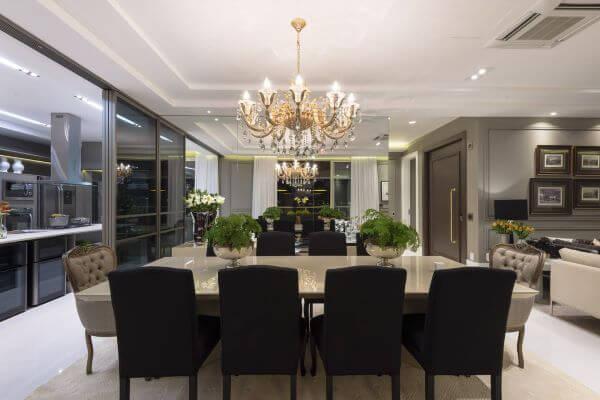 Poltrona para mesa de jantar