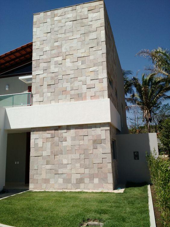 Revestimento para fachada 3D