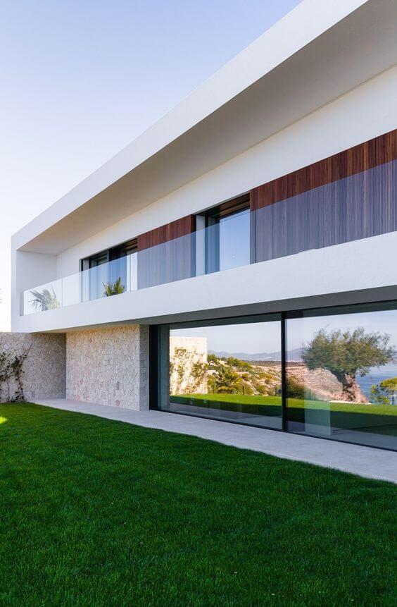 Revestimento para fachada de casa