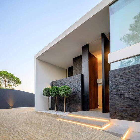 Revestimento para fachada externa