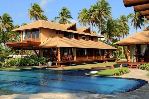 As casas de campo com varanda e churrasqueira aumentam o valor do imóvel