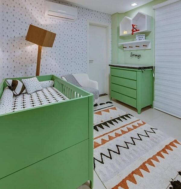 O tapete infantil para quarto deve conversar com os demais móveis do ambiente
