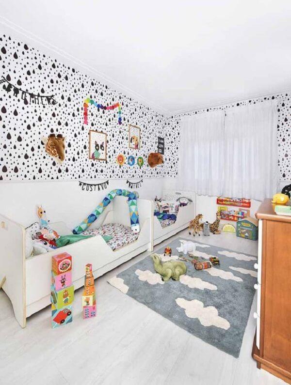 Tapete para quarto infantil para você pisar nas nuvens