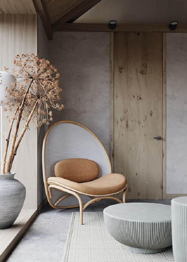 decoração com poltrona design moderno Foto Futurist Architecture