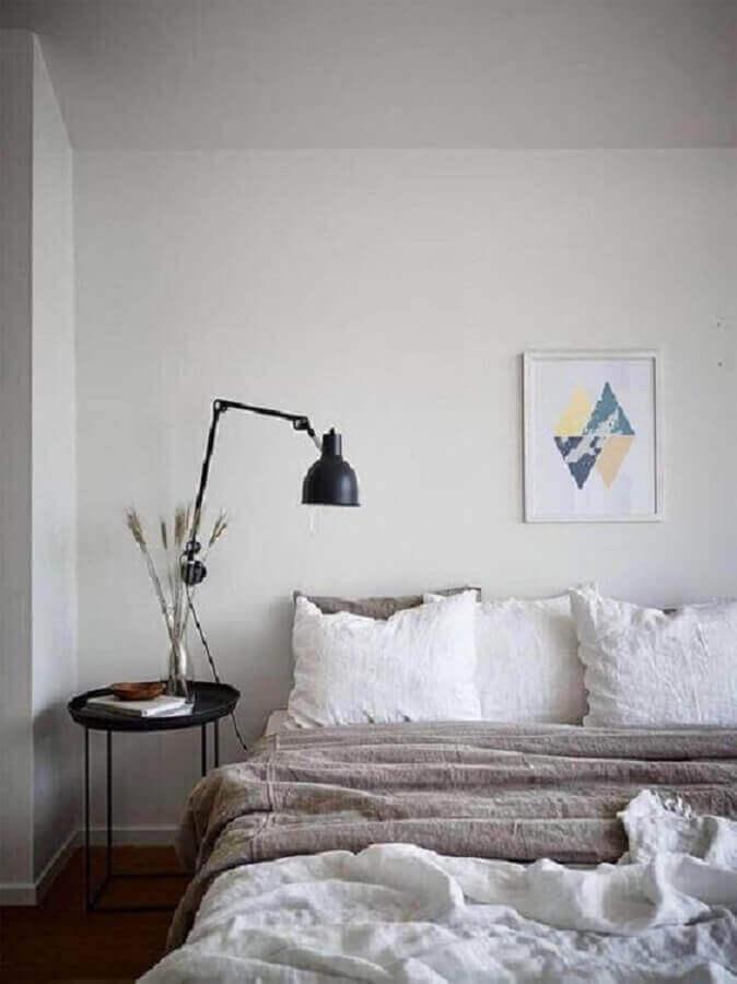 luminária articulável para decoração de quarto minimalista Foto Futurist Architecture