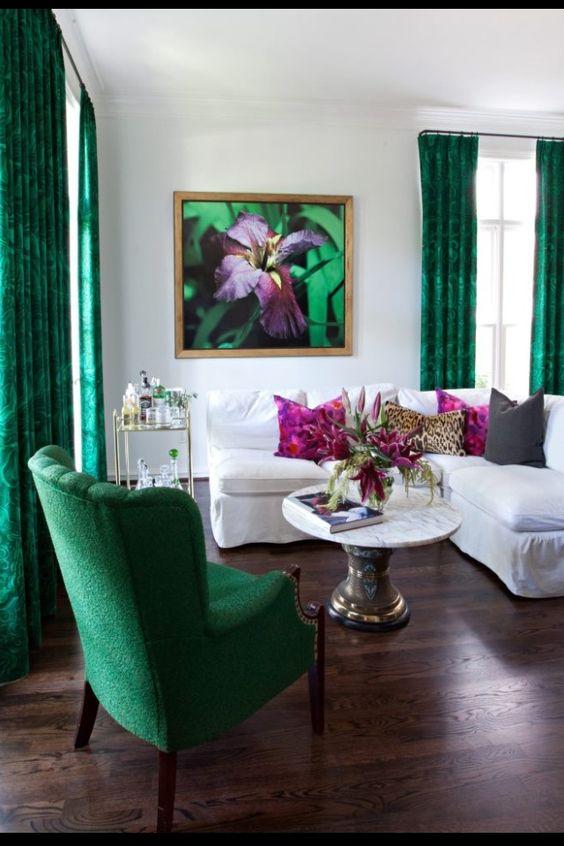 Sala verde esmeralda