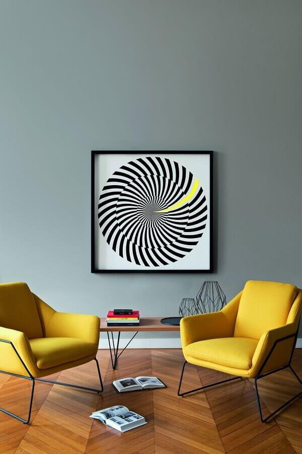 poltronas modernas para sala de estar minimalista Foto Clem Around The Corner