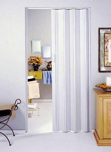 Porta sanfonada para quarto pequeno